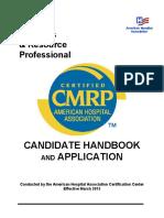 AHA CMRP Handbook