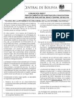 COMUNICADO Convocatoria Revista Analisis 2017