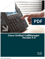 Call Manager Version 5 Espa