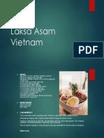 Laksa Asam Vietnam