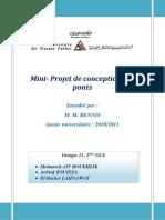 Projet PONT