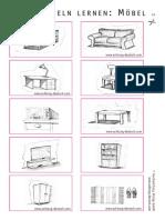 Möbel Wortschatz 2