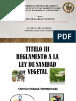 Ley de Sanidad Vegetal