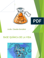 Base Quimica de La Vida Introduccion