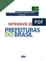 Apostila Revisão Prefeituras 2017 - Prova 01 - AMOSTRA (1)