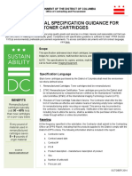 Toner Guidance