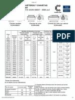 Dimensiones Chaveteros y Chavetas DIN 6885-6886-6887