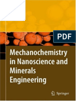 Mechanochemistry in Nanoscience and Minerals Engineering