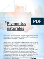 Pigmentos naturales 1