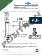 060 11 Volkswagen Fox Spacefox Crossfox Acionamento Dos Vidros Eletricos Com Sw273 Utilizando Alarmes Positron