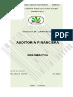 Modulo Auditoria Financiera Ing. Castro