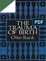 Otto Rank-The Trauma of Birth-Martino Publishing (2010)