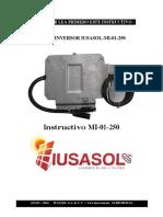 Manual Microinversor