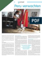 Entrevista en Katholiek Nieuwsblad sobre el viaje del Papa Francisco a Chile y Perú