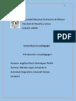Pedagogia U3 Act Integradora Mendez Lopez Armando