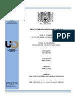 Plan Antropología Soc. FCS UNACH