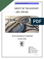 DoT Abu Dhabi CSR Project Report