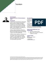 David Bennett Web CV