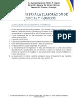 XX. Tramites y Requisitos de Direccion de Ecologia