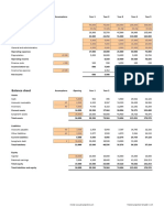 Financial Projections Template v 1.35