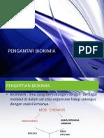 pengantar biokimia