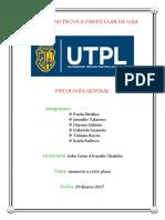 Psicologia General UTPL 29.01.17