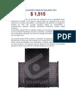 Paneles Solares Alberca