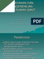 Farmasi Rs Slide Pelayanan Dan Pengendalian Obat Rumah Sakit