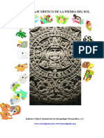 Calendario Azteca del  Gnosis Instituto Cultural Quetzalcóatl