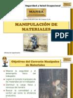Manipulación de Materiales 2015