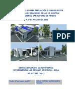 3. Informe Estado de Obra Urgencias a 27-Ago-2012