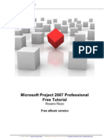 Microsoft Project 2007 Professional - Tutorial in Italiano