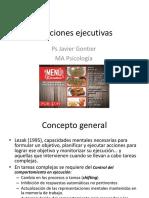 Funciones Ejecutivas y WCST
