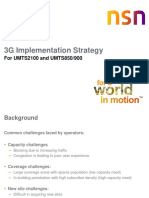 UMTS 850-900 MHz Implementation Strategy V1