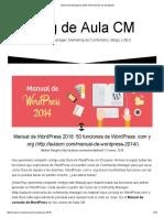 Manual de Wordpress 2018