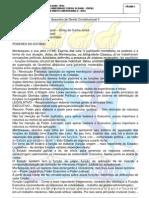 Conteúdo do Caderno de Direito Constitucional II