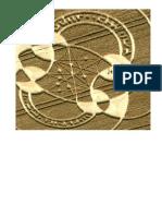 'Hebrew Letters' Crop Circle