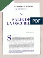 Didi Huberman, Salir de La Oscuridad (sobre El hijo de Saúl).pdf