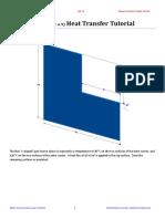 L-Shaped Plate Heat Transfer
