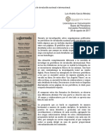 Organigrama Periodismo