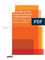 A Study on the Impact of Lease Capitalisation