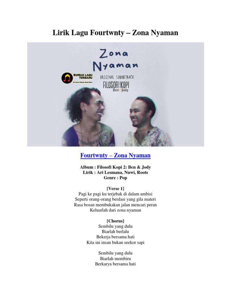 download lagu zona nyaman fourtwnty mp3 gratis