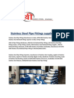Stainless Steel Pipe Fittings supplier in india.docx