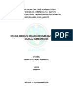 Informe Aguas Residuales