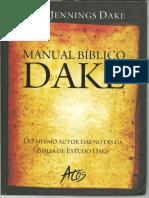 Manual Biblico Dake - Finis Jennings Dake