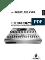 DDX3216 manuale italiano
