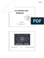 Atoms Nucleus and Radiation - To Be Filled In
