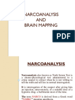 Narco Analysis and Brain Mapping