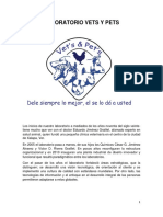 Manual orgánico de Laboratorio clínico veterinario.