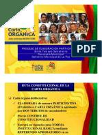 Cartas Orgánicas MUNICIPIO DE LA PAZ